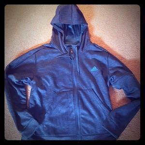 adidas Full Zip Hooded Jacket